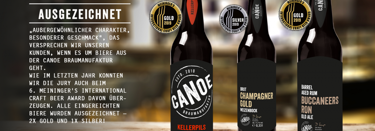 Gewinner beim 6. Meiniger's International Craft Beer Award